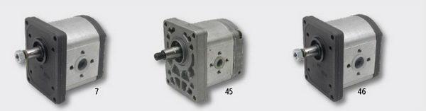 Pompa hydrauliczna do ciągnika Fiat.