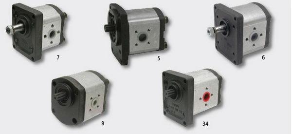 Poma hydrauliczna do ciągnika lamborgini firmy Bosch.