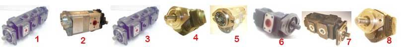 Pompy hydrauliczne do maszyn budowlnaych JCB.