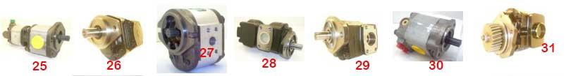 Pompy hydrauliczne do maszyn JCB.